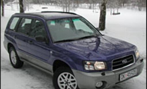 image: TEST: Subaru Forester 2.0 X