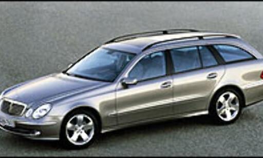 image: Mercedes E-klasse stasjonsvogn