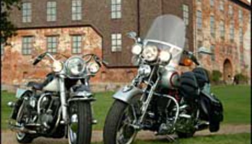Harley-utstilling på Koldinghus. Foto: Friis Fotografi/Koldinghus Foto: Friis Fotografi/Koldinghus