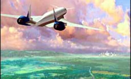 Sonic Cruiseren som man så den for seg. Bilde: Boeing Foto: Boeing