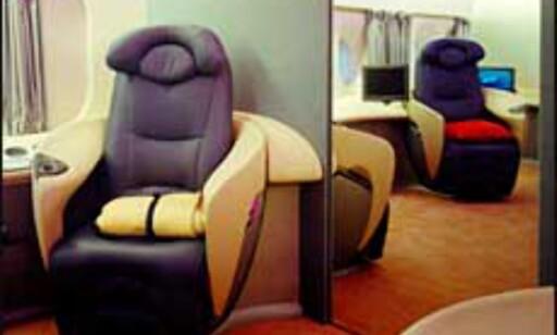 Komfort for alle penga i A380. Bilde: Airbus Foto: Airbus