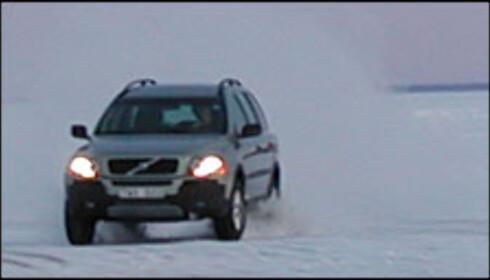 Volvo XC90 på vinterveier