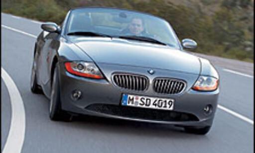 image: BMW Z4 på vei