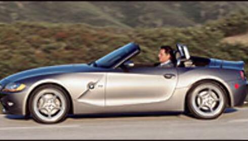 BMW Z4 på vei