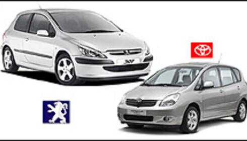 Toyota og Peugeot stormer frem på tyskernes bekostning