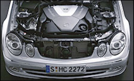 image: Dieselracer fra Mercedes