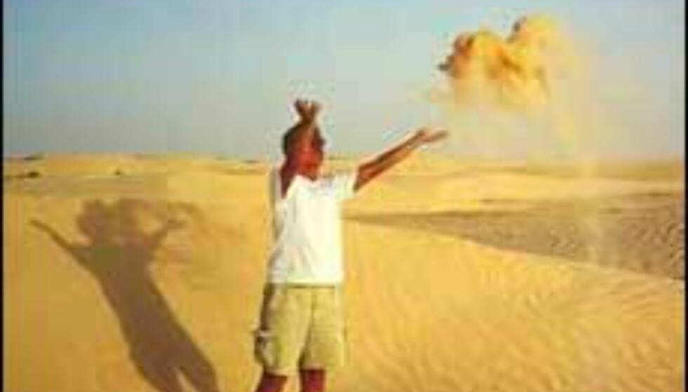 Sahara-utflukt på Tunisia-ferien? Foto: Berit Fjell Foto: Berit Fjell