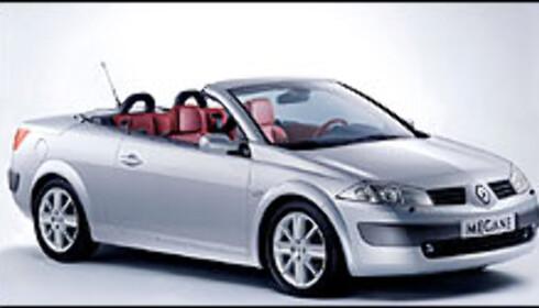 Renault Megane kupekabriolet.