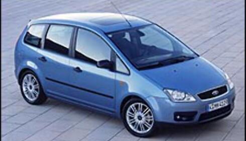 C-MAX: Zafira-konkurrent fra Ford