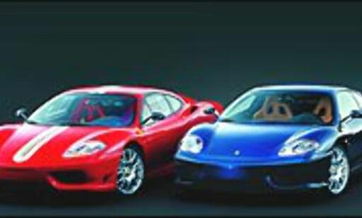 image: Ferrari med rå 360-versjon