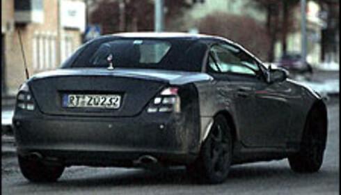 Ny Mercedes SLK i 2005