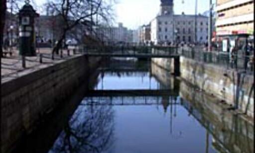 Hyggelige kanaler i sentrum.