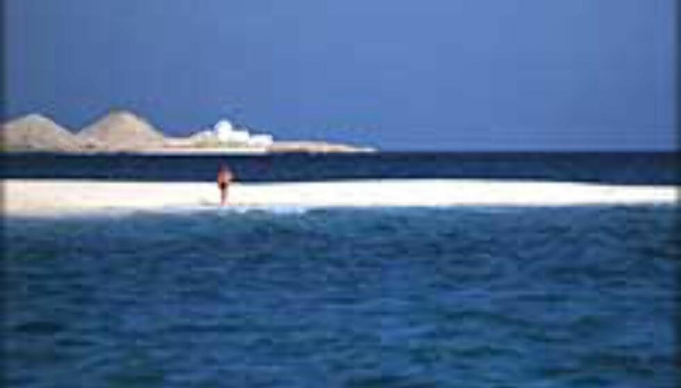 Få badeliv i Hurghada for under tusenlappen. Foto: Lars Brubæk Foto: Lars Brubæk