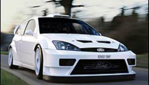 Ny WRC-bil fra Ford