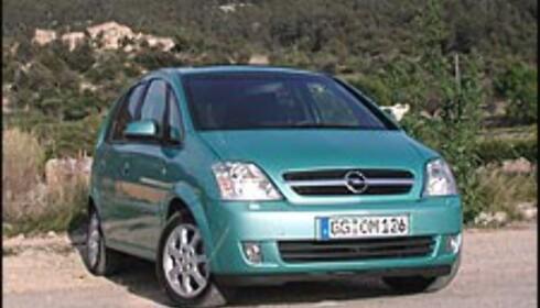 Meriva: Genistrek fra Opel