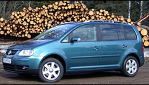 Liten flerbruksbil fra Volkswagen