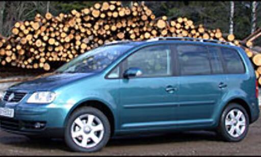 image: Liten flerbruksbil fra Volkswagen