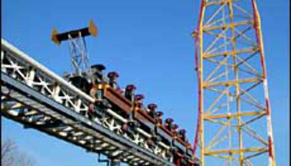 Barske dragstervogner for barske karer som tør dette ... Foto: Cedar Point Foto: Cedar Point