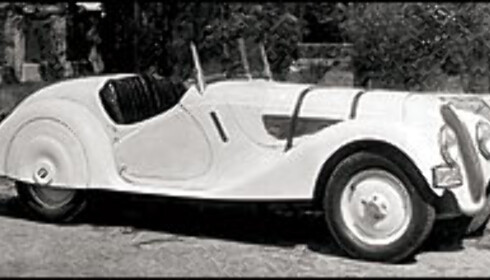1936: BMW 328 Roadster