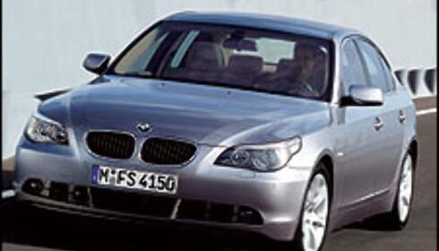 Priser på ny BMW 5-serie