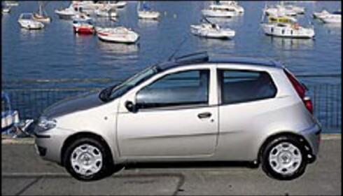 Fiat Punto får ansiktsløfting