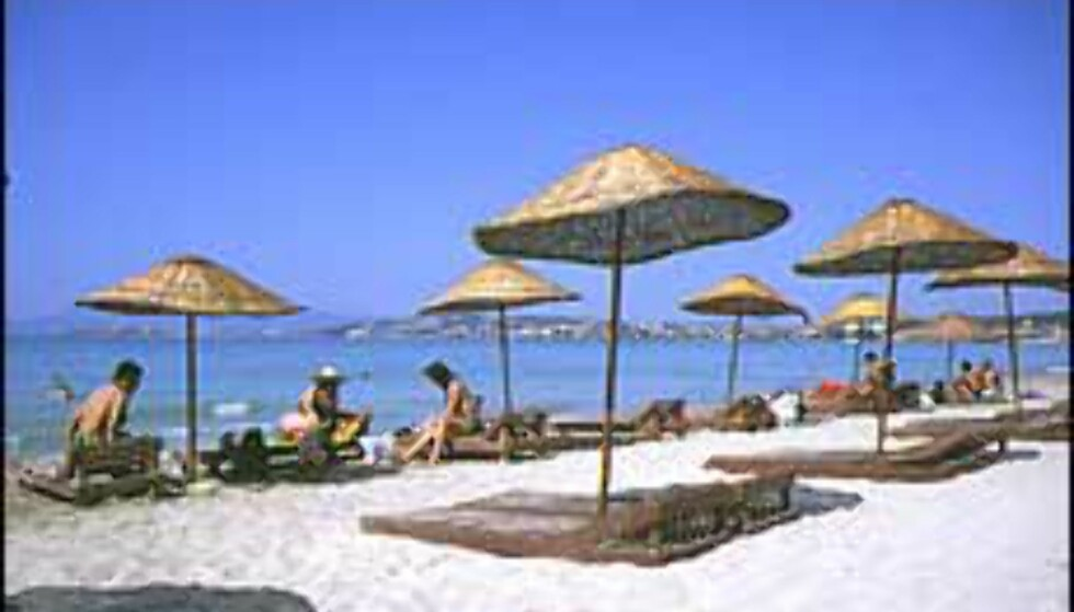 Tyrkia tilbyr de billigste strandopplevelsene denne uken. Foto: Dag Yngve Dahle