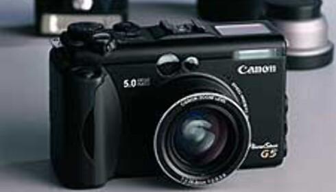 Canon klar med Powershot G5