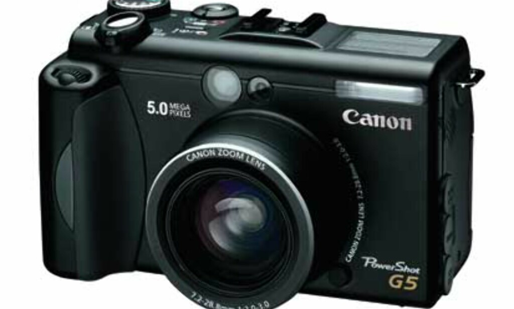 image: Canon klar med Powershot G5