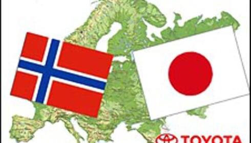 Norge + Japan = Sant