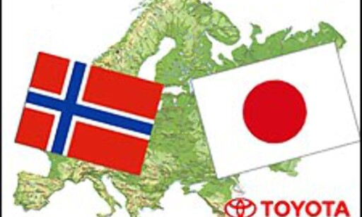 image: Norge + Japan = Sant