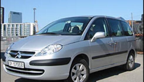TEST: Citroën C8 2.0i aut.