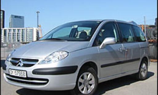 image: TEST: Citroën C8 2.0i aut.