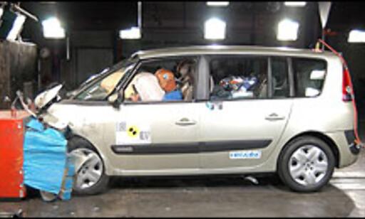 Renault Espace: 5 stjerner