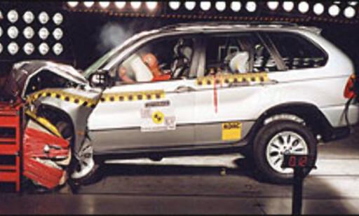 BMW X5: 5 stjerner til slutt