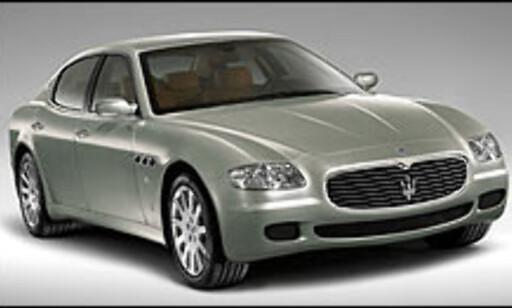 image: Stor luksussedan fra Maserati