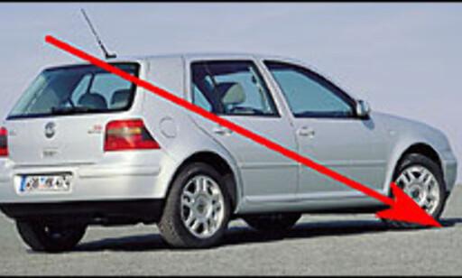 VOLKSWAGEN GOLF: Norges mest kjøpte personbil i 1998, 1999 og 2000. Bronse-plassering i 2001 og 2002. I dag ligger Golf på en 10. plass.