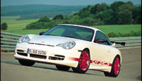 Porsche med nytt råskinn