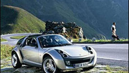 Smart Roadster: Klar for å rule sommeren.