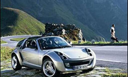 Smart Roadster: Klar for å rule sommeren.