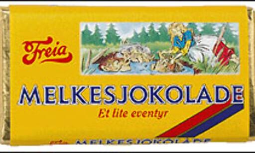 15.18 kroner per kilo av denne sjokoladens utsalgspris går til avgifter.  Foto: Kraftfoodsnordic.com Foto: Kraftfoodsnordic.com