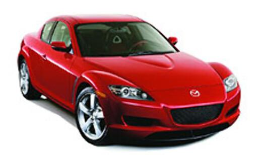 image: Mazda RX-8 kommer