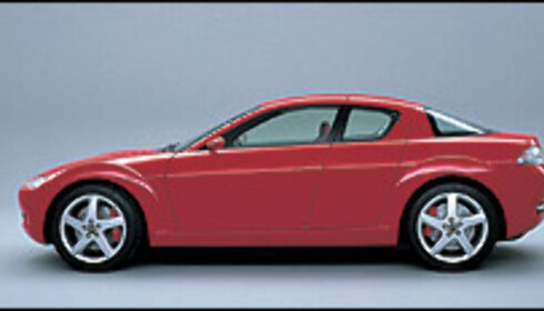 Mazda RX-8 kommer