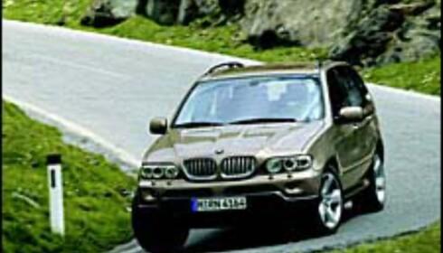 Ny BMW X5 i høst