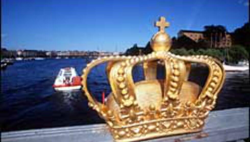 Kronen på Skeppsholmsbron. Foto: Stephan Gabriel/Svenske Turistrådet Foto: Stephan Gabriel/Svenske Turistrådet