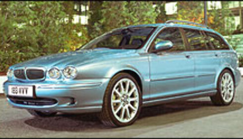 Jaguar: Nå også med stasjonsvogn