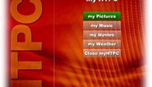 myHTPC - gratis Media Center-klone