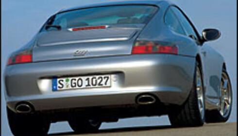 Porsche 911 40 års jubileumsmodell.