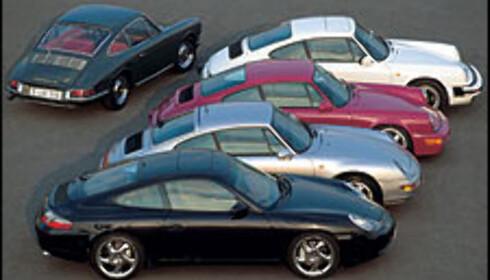 Porsche 911 40 år