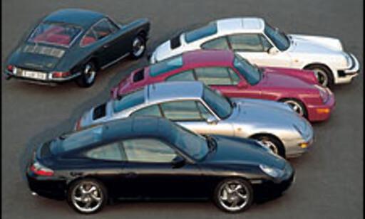 image: Porsche 911 40 år