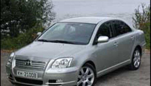 TEST: Toyota Avensis 2.0A